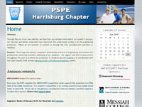 PSPE Harrisburg Chapter Website